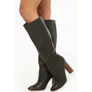 Shoes - ✨Black over the knee boots NWT
